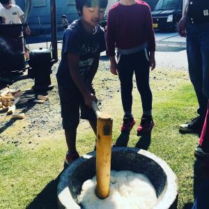 休日(*ˊᵕˋ*)町内会の芋煮会に参加しました♡子供がいるからこそ広がる世界!