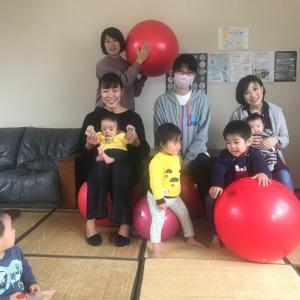 バランスボールで体幹を、そして産後の体をケアしよう!子連れで一緒に楽しく運動!@Meimei
