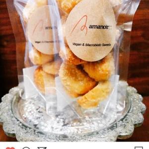 おすすめ!!ヴィーガンスウィーツ〈amanoir〉さんの美味しいお菓子^^