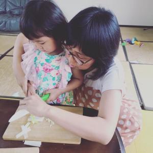 未就園児クラスのキッズベジシェフ講座!子供の集中力は短くても、それも含めて楽しむ時間を♬♬