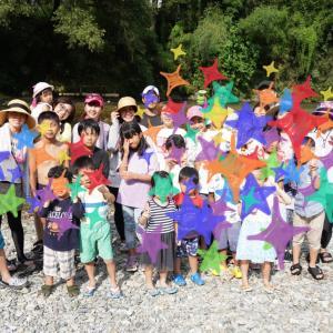 めっちゃ楽しい~!毎年恒例!あたご川でBBQ♡自然の中で、大人も子供もおもいっきり遊ぶ!