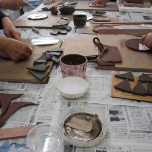 陶芸教室ありました。
