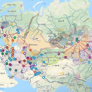モンゴル軍の進撃ルート~1230年代くらいまで
