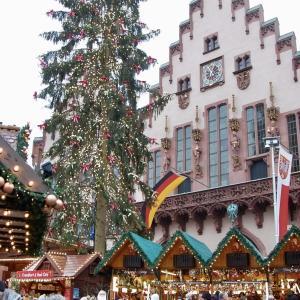 フランクフルト観光とクリスマスマーケット:2019またドイツ旅4