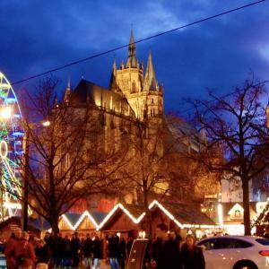 エアフルト観光とクリスマスマーケット:2019またドイツ旅5