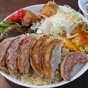 【餃子の王将】金杯牛カルビ炒飯、餃子付