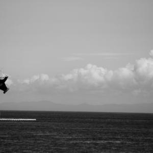綿雲の波 - 津久見港 -