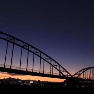 水管橋はカワウのドヤ街 - 曲/大分川 -