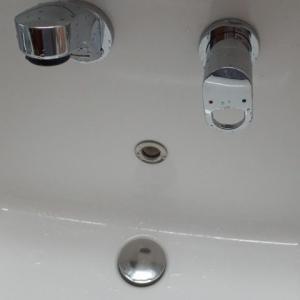 洗面台の排水口問題