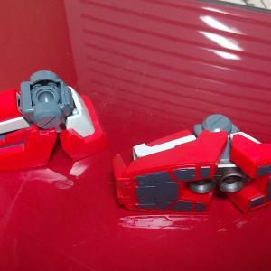 おっさん、MG GP02A サイサリスを作る! その3