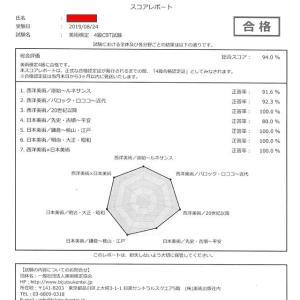 美術検定 4級(CBT) 受験!