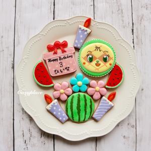 ♡ビックサイズのメロンパンナちゃんでお誕生日を・・・♡