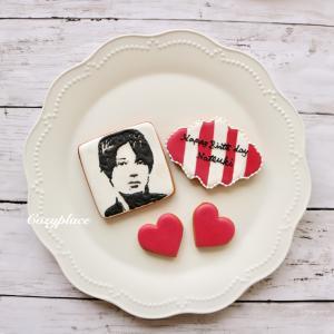 ♡モノクロアイシングクッキー♡