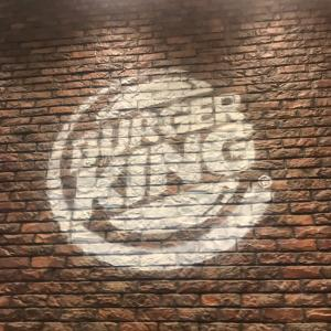 卒論進捗。BURGER KING