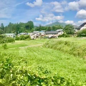 春週末スク終了。岐阜県の長閑な風景。