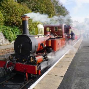 凄まじいトーマス感!1876年から走る蒸気機関車に乗ってみた!