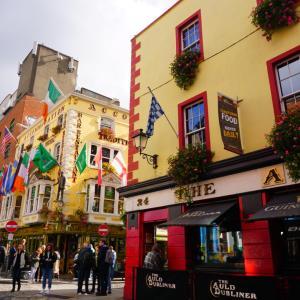 可愛い可愛いアイルランドの首都ダブリン♡