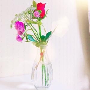 お花の定期便始めました