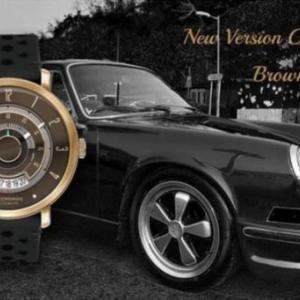 「LECRONOS」 ヴィンテージな車好きには、たまらない時計! ヴィンテージスポーツカーのタコメーターがモデル