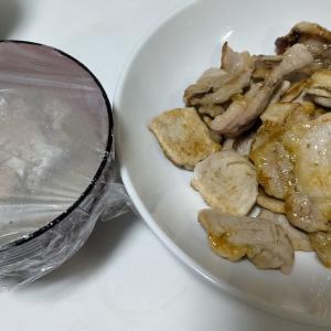 【今日の夕飯】豚ロース焼肉 その4 @さば缶