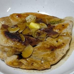 【今日の夕飯】チキンステーキ その62 @いわしの味付缶