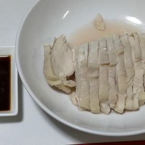 【今日の夕飯】サラダチキン その93 醤油バター