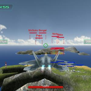 F-22 ラプター 武装(火力)装甲 強化 【空中決戦3D - Sky Fighters】