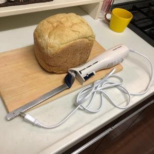 パン切りナイフを電動式に♡