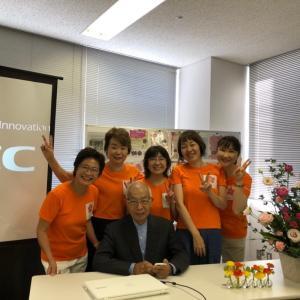 はなのね1周年記念講座、垣添忠生先生のご講演。