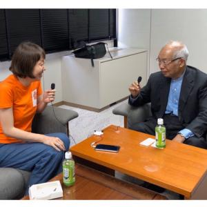 はなのねポッドキャスト更新。垣添忠生先生インタビュー