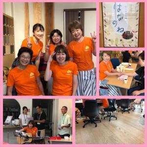 8月24日、がんカフェはなのねを開催しました