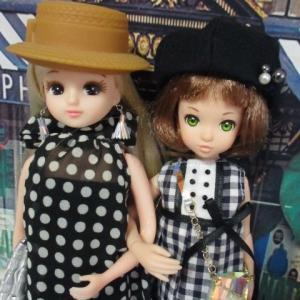 リカちゃんとrurukoのモノトーンファッション!