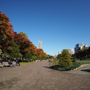 秋深し 大通公園