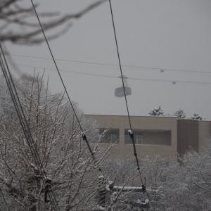 雪の電車事業所 2