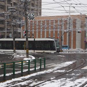雪の電車事業所 3