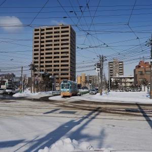 真冬の電車事業所 6