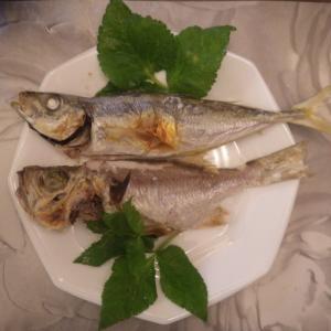 久々の釣魚料理