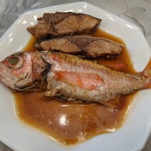 ワラサで満腹(先週の魚料理)