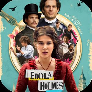 『エノーラ・ホームズの事件簿』(2020)/正攻法の面白さだし色んな痛快描写が全部ストーリーと結び付いてるから近年の変則ホームズの中で一番好き🔍