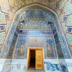 【ウズベキスタン女一人旅】シルクロードの青い宝石、サマルカンド