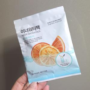韓国のSNSで話題だったインナーウォーターパックを今更飲んで見ました