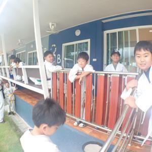キャンプ2日目①