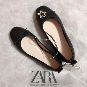 ZARAキッズは靴も使える。