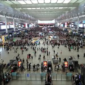 中国のスケールの大きさを実感!空港並みの巨大ターミナル駅「上海虹橋駅」