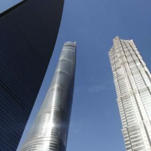 地上472m から見下ろす 上海の街並み