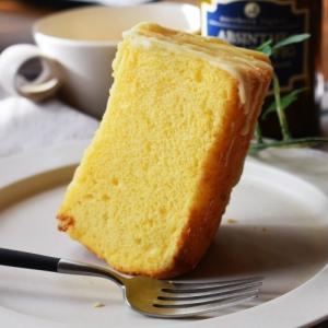 12月の通信講座。第7弾「ホワイトチョコチーズケーキ」シフォン