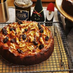 【通信講座】12月 焼き菓子 応用Ⅲ「幸運の林檎ケーキ」講座。発送しました。