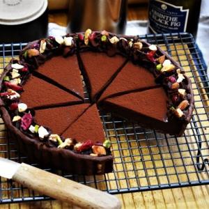 【通信講座】7月焼き菓子 マスター「タルト・ショコラ」講座。発送しました。