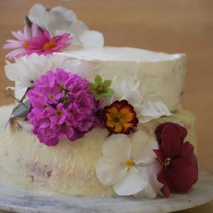 母のバースデーケーキ♪♪