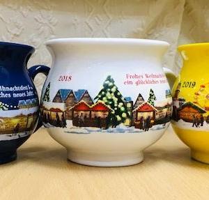 KALDIのグリューワインカップ3色揃った(●^o^●)